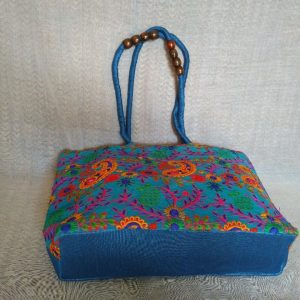 Ladies Blue Bag