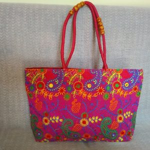 Ladies Red Hand Bag