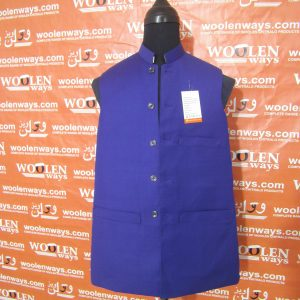 Facebook Suiting Fabric Waistcoat For Men
