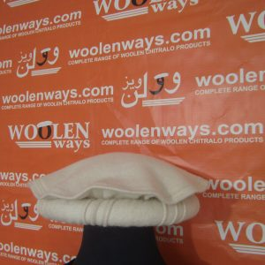 Traditional Woolen White Cap