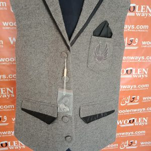 Woolen Waist Coat New Design